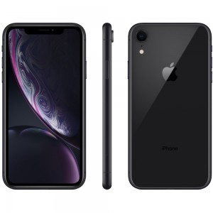 "iPhone XR 64GB Preto Tela 6.1"" iOS 12 4G 12MP - Apple"