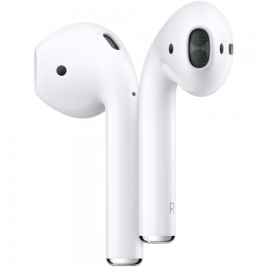 Fone de Ouvido Apple AirPods, com Estojo de Recarga Sem Fio