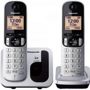 Telefone Sem Fio Com Id Base + Ramal Panasonic