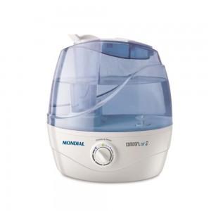 Umidificador de Ar Ultrassônico Confort Air 2 MONDIAL Branco/Azul bivolt