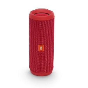 Flip 4 Caixa de Som Portátil Bluetooth, JBL, 28910726, Vermelha