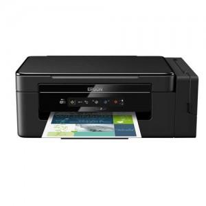 Multifuncional Tanque de Tinta Epson EcoTank L395 Wireless - Impressora, Copiadora e Scanner