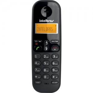 Telefone sem Fio Intelbras TS 3110 Intelbras Preto