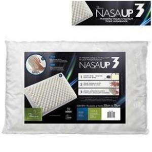 Travesseiro Fibrasca Nasa Up3 Visco - Branco